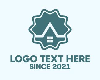 Apartment - House Emblem logo design