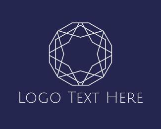 Crystal - Star Diamond logo design
