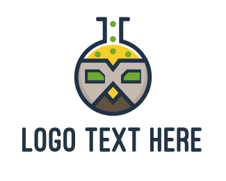 Experiment - Owl Lab logo design