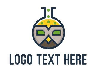 Web Design - Owl Lab logo design