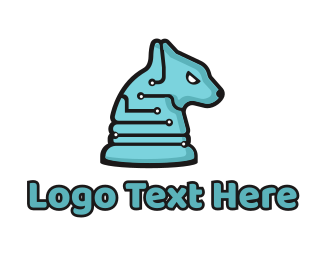 High Tech - Tech Hound logo design