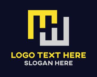 Modern - H & H logo design