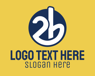Chewing Gum - 2b Circle logo design