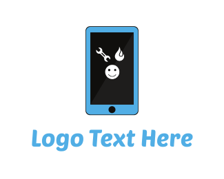 Phone Repair - Smartphone Repair logo design