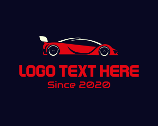 Red Car - Red Car logo design