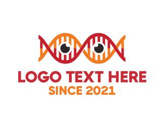 Scientific - Science Eyes logo design