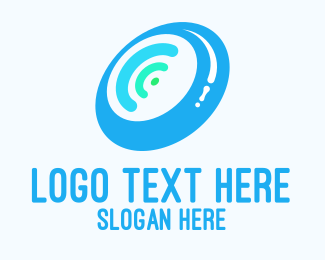 Wheel - Wifi Wheel logo design