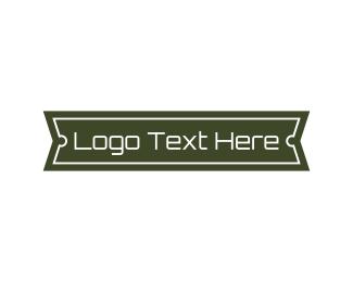 Kiosk - Modern Blade Banner logo design