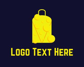 Baggage - Cheese Bag logo design