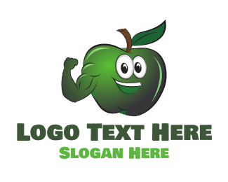 Personal Training - Green Apple logo design