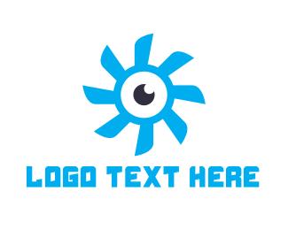 Videography - Propeller Eye logo design