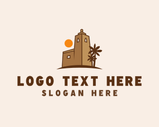Greek - Mediterranean Sunset  logo design