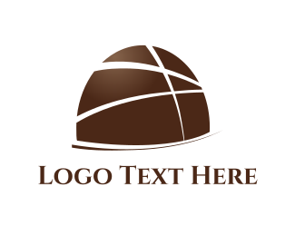 Cocoa - Dark Chocolate logo design
