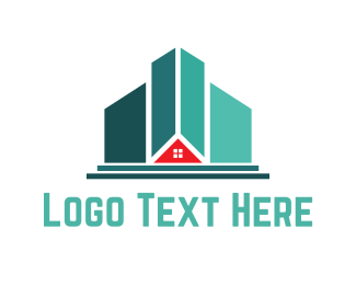 Broker - Mint Buildings logo design