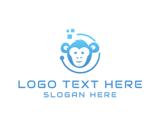 Technician - Tech Monkey logo design