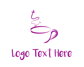 Espresso - Purple Mug logo design