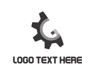 Screw - Metallic Gear logo design