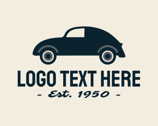 Uk - Vintage Car logo design