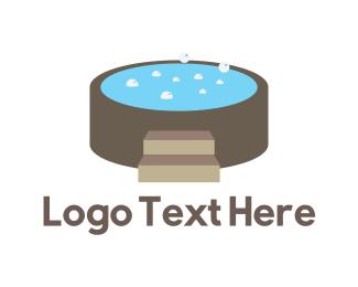 Hot Tub - Hot Tub logo design