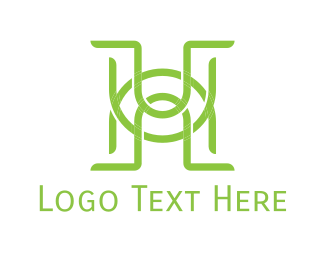 Monogram - H & U logo design