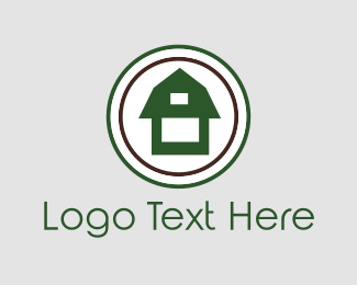 Farmer - Green Barn logo design