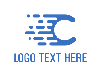Communication - Fast C logo design