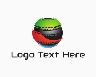 Theater - Film Globe logo design