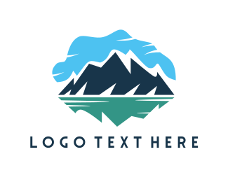 Lake - Blue Mountain Lake logo design