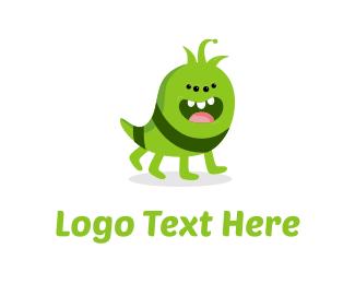 Adorable - Cute Monster logo design