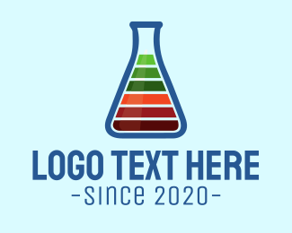Lab - Test Tube logo design