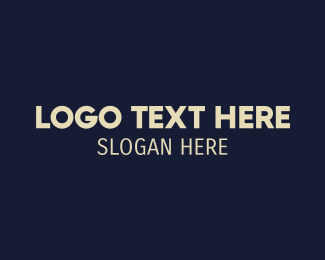Public Relations - Simple Modern San Serif logo design