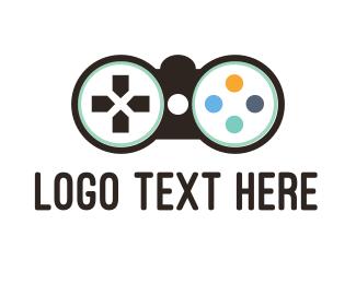 Binocular - Binocular Controller logo design
