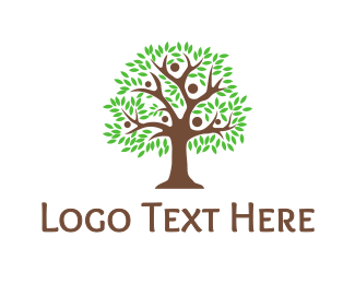 Family - Big Family Tree logo design
