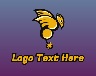 Esport Gaming Bomb Wasp Logo Maker