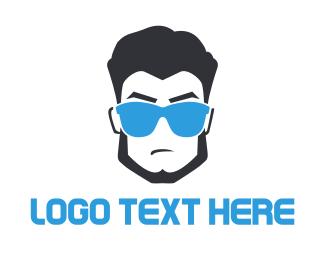 Surf - Cool Dude logo design