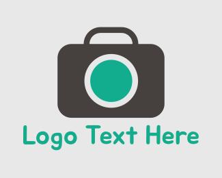 Adventure - Photography Green & Grey logo design