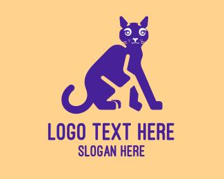 Black Cat - Black Cat logo design