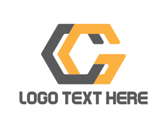 Letter C - Modern C & G logo design