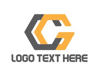 Hexagonal - Modern C & G logo design
