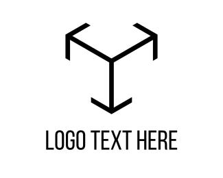 Pointer - Arrow Cube logo design