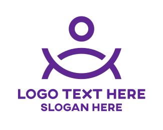Bowl - Human Bowl  logo design