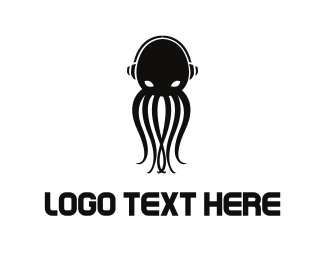 Song - Octopus Music logo design