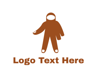 Costume - Hand Man logo design