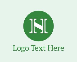 Letter N - Letter N Circle logo design