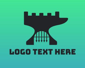 Blacksmith - Forge Fort logo design