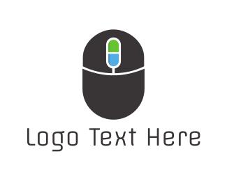 Creative Services - Mouse Capsule logo design