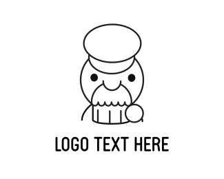 Patisserie - Muffin Man logo design