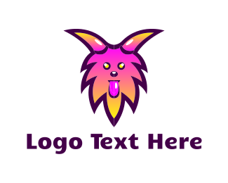 Bright - Furry Monster logo design