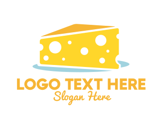 Cheese - Cheese Cake logo design