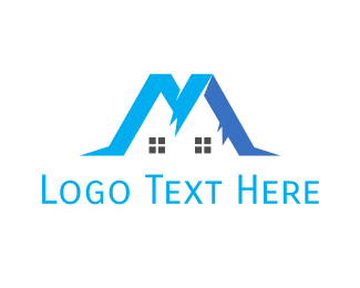 Interior Designer - Blue Mountain House logo design